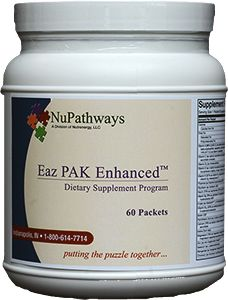 The Eaz PAK combines the best of the relaxing minerals, vitamins, and amino acid precursors to assist you in sleeping and relaxing naturally. The Eaz PAK does not contain sedative drugs and therefore does not cause brain injury or addiction. In fact it does just the opposite.