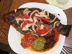 Tilapia - Ghana style....