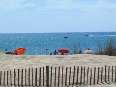 Plage de Marseillan La Grenadine, Languedoc Roussillon, Beach Mat, Outdoor Blanket, Outdoor Decor
