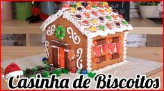 Receita de Natal | Como Fazer Uma Casa de Biscoitos | How to Make a Ging...