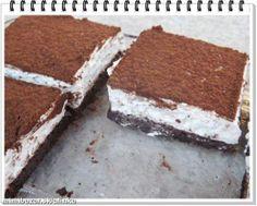 Skvelý tvarohovo-šľahačkový koláč bez štipky múky *** Recept zde : http://www.mimibazar.sk/recept.php?id=54504