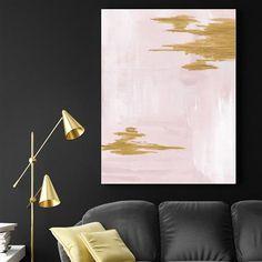 ACHICA | Morning Blush, Canvas Print, Choose Size