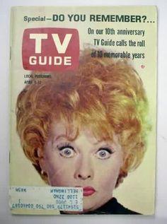 vintage original TV GUIDE magazines for sale from Gasoline Alley ...