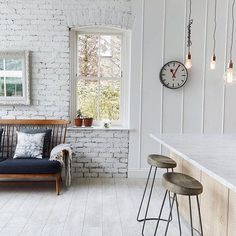 Home style inspiration featuring The Putney clock. Thanks for sharing with us @jamiemreed  #newgateclocks