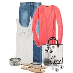 Easy cute spring time outfit to run errands