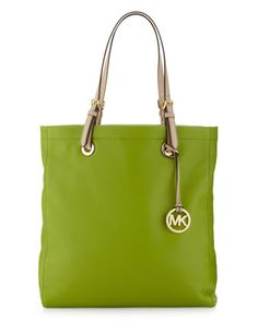 Jet Set North-South Tote, Lime by Michael by Michael Kors at Last Call by Neiman Marcus.