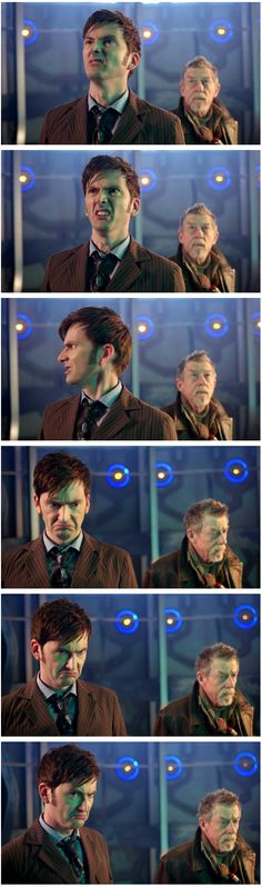Sir, your face...David Tennant, the only man who can make a million facial expressions in 10 seconds