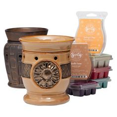 NEW Perfect Full-Size Scentsy – Combined    6 Scentsy Bars of your choice, plus 1 Full-Size Premium Scentsy Warmer and 1 Full-Size Scentsy Warmer ($17 savings).    Your Price: $96.00