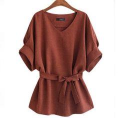 539b357595a Fashion Loose Cotton Women s Blouse Price  28.18  amp  FREE Shipping   onlineshopping  fashion