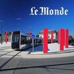 Le Monde parle du tram de Tours & de rcp design global