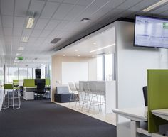 Blitz Architecture has completed the design of a new office space for Zendesk located in Dublin, Ireland.