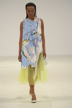 Graduate Fashion Week Lauren Smith from Edinburgh college of Art) via stylebubble.co.uk