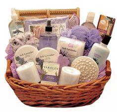 Luxurious Lavender Spa Gift Basket
