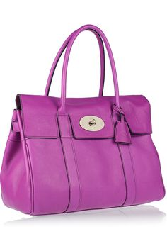 Mulberry Bayswater in violet.  Preeeettttyyyyy.....