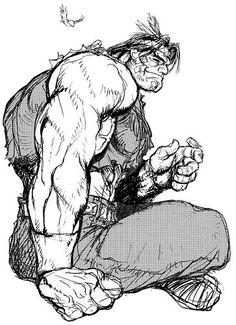 T. Hawk sketch