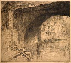 Jules De Bruycker LONDON BRIDGE 1917