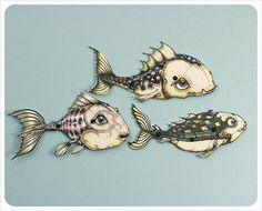 little fish                       thefilligree@Elaine Young