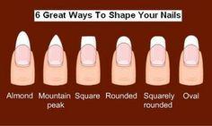 Nails ... shape
