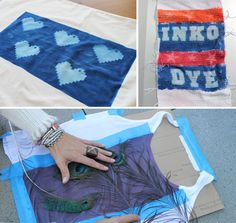 Use the Sun to Make Custom Printed Fabric with Inkodye - Brit & Co. - Living