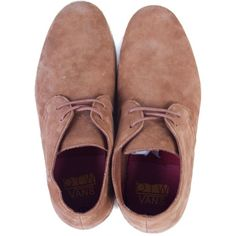 Vans Howell Shoes - Nubuck (450 PEN) ❤ liked on Polyvore featuring shoes, oxfords, boots, scarpe, toms desert bootie, vans oxfords, nubuck oxford, famous footwear and nubuck leather shoes