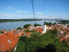 Danube river in Zemun (Belgrade), Serbia