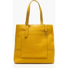 J.Crew All-Day Tote (£180) ❤ liked on Polyvore featuring bags, handbags, tote bags, genuine leather tote, leather tote purse, leather handbags, handbags totes and leather totes
