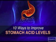 Optimal stomach acid levels are essential for good digestion. This article goes over 10 major ways to improve stomach acid levels naturally.