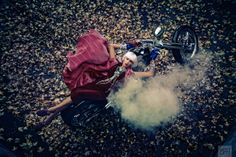 Dan Lim Photography Inc.   Fashion Women #fashion #womensfashion #highfashion #motorcycles