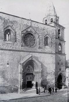 Cattedrale di Larino S. Pardo nel 1950 circa