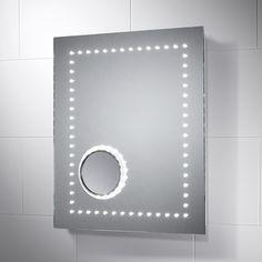 Bolina LED Illuminated Bathroom Mirror with Demister Pad Grey Bathrooms, Bathroom Mirrors, Pebble Grey, Led Mirror, Bathroom Inspiration, Bathroom Accessories, Furniture, Search, Home Decor