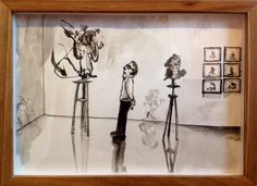 Past Exhibitions — The Voorkamer Gallery Watercolour, Past, Ink, Gallery, Drawings, Home Decor, Pen And Wash, Watercolor Painting, Past Tense