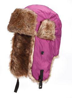 Pilotenmütze / Fliegermütze / Schapka / Fell / Mütze / Winter in Kleidung & Accessoires, Damen-Accessoires, Hüte & Mützen | eBay
