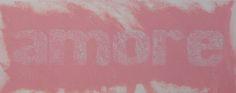 Amore Rosa, carborundum, 140x80cm