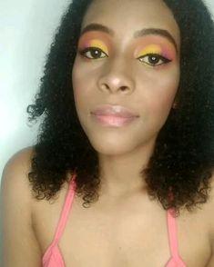 Maquillaje colorido Colorful Makeup, Brunettes, Blue Prints