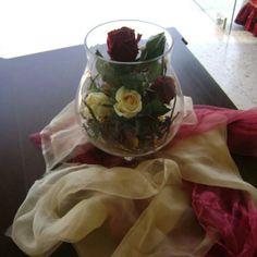Bouquet rose du table
