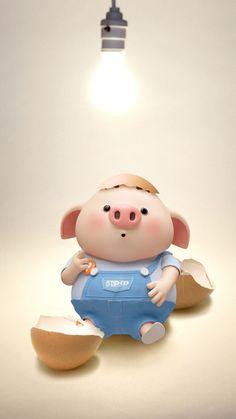 Pig 🍭 Pig Wallpaper, Cartoon Wallpaper, This Little Piggy, Little Pigs, Movie Night For Kids, Cute Piglets, 3d Art, Pig Drawing, Pig Illustration
