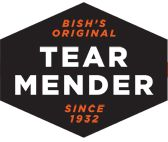 Tear Mender : Seriously the BEST glue for fabrics. I have used it to repair leather shoes, hemmed pants, repair pin holes in tee-shirts, and kept buttons secure!    • Natural Latex  • Dries in 3 minutes  • Machine washable after 15 minutes  • Permanent and Flexible  • Won't stick to hard surfaces.  As a mom of 3 boys, I only wish I had discovered it sooner!