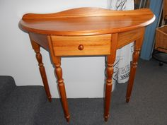 half hall table, love these tables so great for small entrances and hallways before