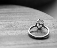 love heart rings