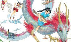 Mostrada la portada de Los 7 hijos del dragón