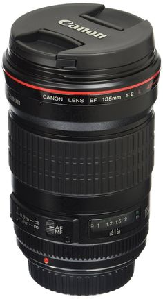 Canon EF 135mm f/2L USM Lens for Canon SLR Cameras - Fixed