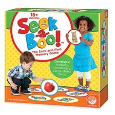 Seek-A-Boo Toddler Board Game – Kids board games for toddlers and preschoolers - Let's Get Board! Best Toddler Games, Toddler Board Games, Games For Toddlers, Toddler Toys, Activities For Kids, Kids Board, Toddler Girl, Creative Activities, Creative Play