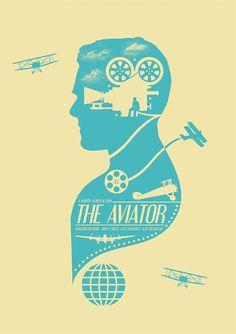 "Spoke Art presents: ""Scorsese"" An art show tribute to the films of Martin Scorsese Minimal Movie Posters, Minimal Poster, Cinema Posters, Film Posters, Martin Scorsese, Christopher Robin, Aviator Movie, The Aviator, Poster Graphics"