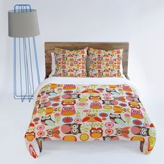 DENY Designs Valentina Ramos Cute Little Owls Duvet Cover, Queen by DENY Designs, http://www.amazon.com/dp/B006DKQCQW/ref=cm_sw_r_pi_dp_nve-rb1FT8WBQ