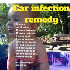 Ear infection / essential oils / young living / Natasha barker 1621737