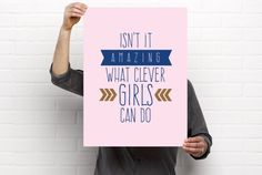A personal favorite from my Etsy shop https://www.etsy.com/listing/287144765/poster-printable-peter-pan-baby-girls