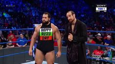I'm so happy Rusev is getting the push he deserves