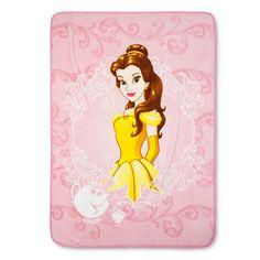 "Beauty & The Beast Throw Blanket (46""x60"") - Disney"