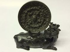 A Rare Chinese Ming Dynasty Bronze Mirror on Shi - Shi Stand Bronze Mirror, Mirrors, Oriental, Auction, Chinese, Mirror, Chinese Language