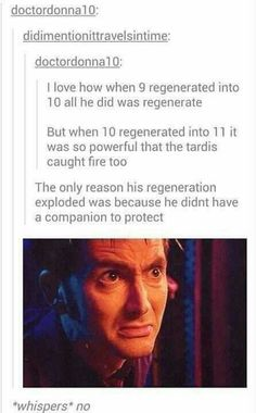 That and he had held back the regeneration energy for so long it built up and just exploded